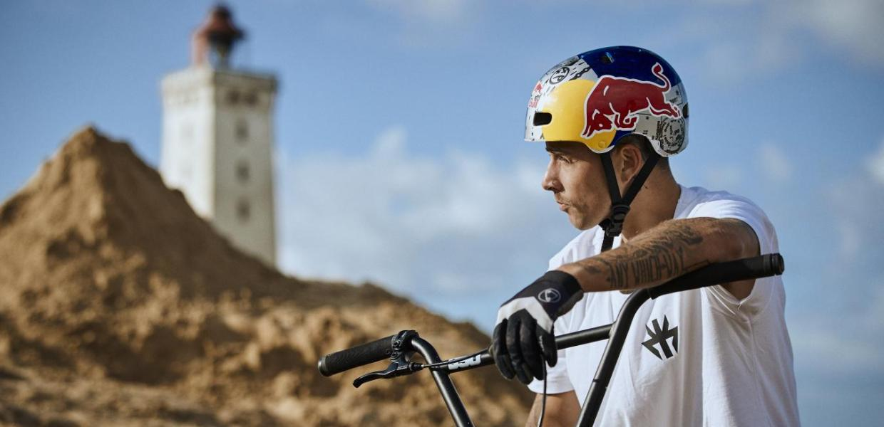 Red Bull BMX Kiss Kyle at Rubjerg Knude
