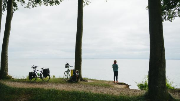 A stop near Sønderborg on the Baltic Sea Cycling Route in Denmark