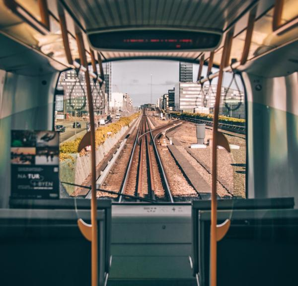 It's easy to get around Copenhagen with the driver-less metro